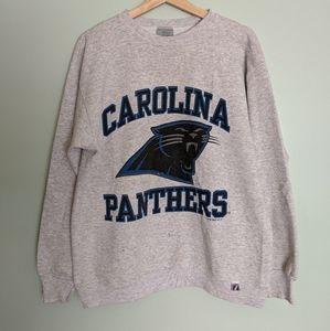 Vintage 1990s Carolina Panthers Sweatshirt L